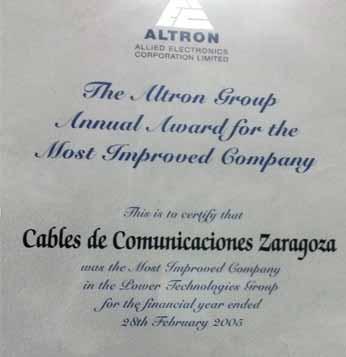 Award Title 20051